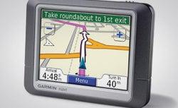 Garmin Nüvi 360 GPS device.