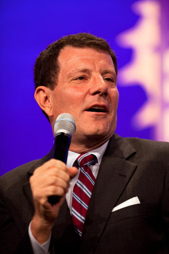 Nicholas Kristof, columnist for the New York Times.
