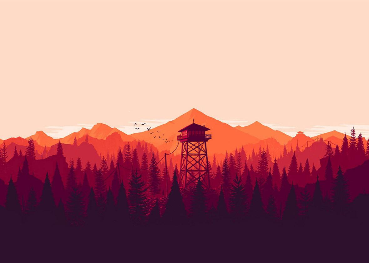 Firewatch game.
