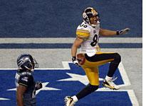 Super Bowl MVP Hines Ward. Click image to expand.