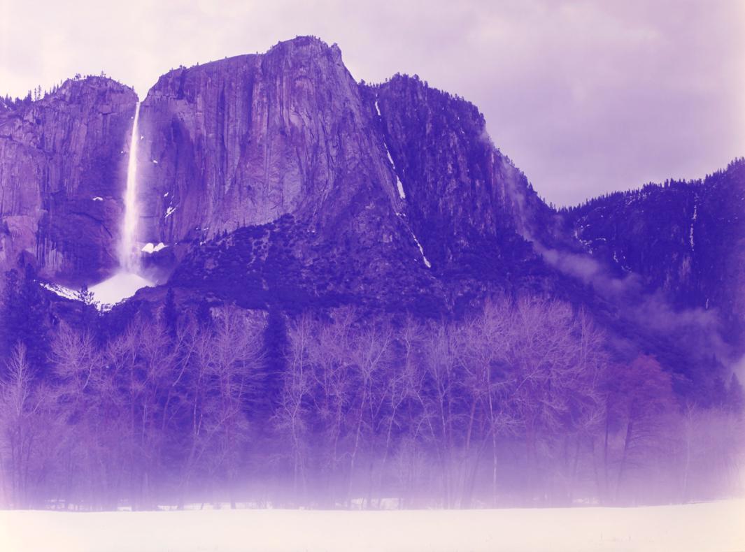Winter Morning Fog, Bridalveil Falls, Yosemite, California, 2013.