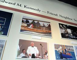 Pictures of U.S. Senator Edward Kennedy. Click image to expand.
