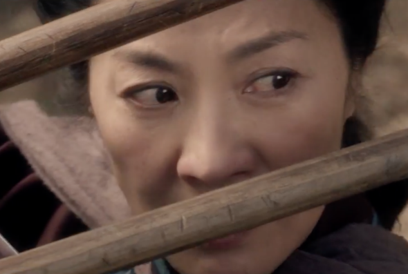 Michelle Yeoh in Crouching Tiger, Hidden Dragon: Sword of Destiny.
