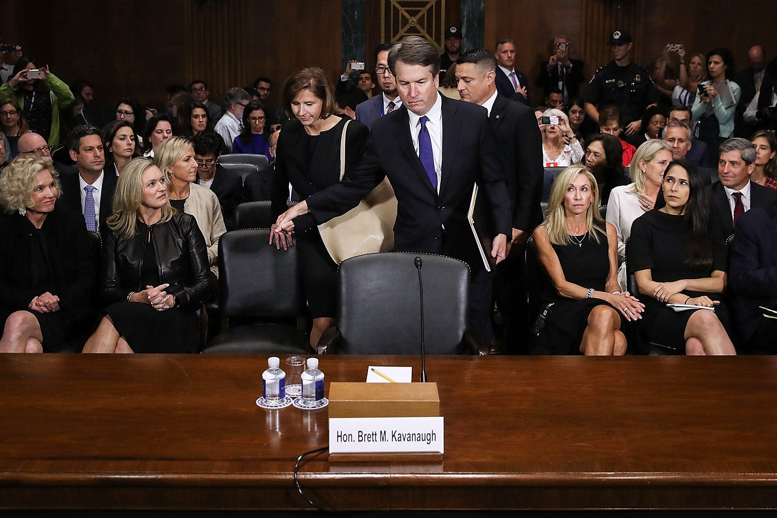 Brett Kavanaugh before his hearing