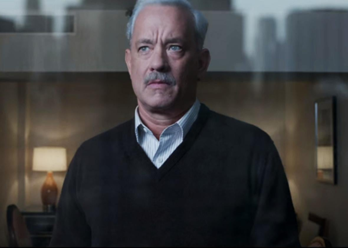 Tom Hanks in Sully.