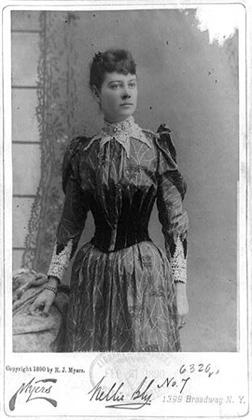 Nellie Bly. Click image to expand.
