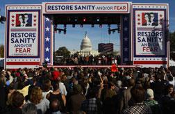 The Rally To Restore Sanity and/or Fear. Click image to expand.