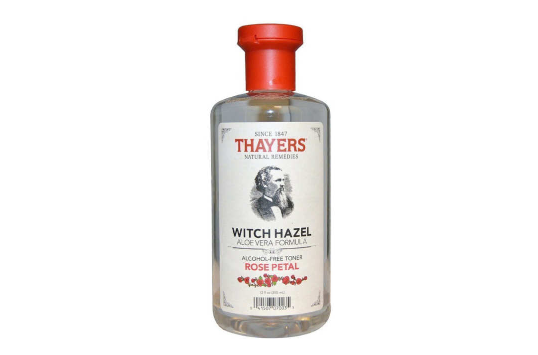Thayer's Alcohol Free Rose Petal Witch Hazel.