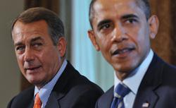 John Boehner and Barack Obama. Click image to expand.