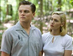Leonardo DiCaprio and Kate Winslet in Revolutionary Road. Click image to expand.