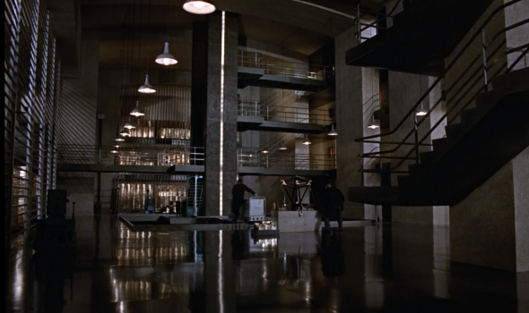Fort Knox in Goldfinger