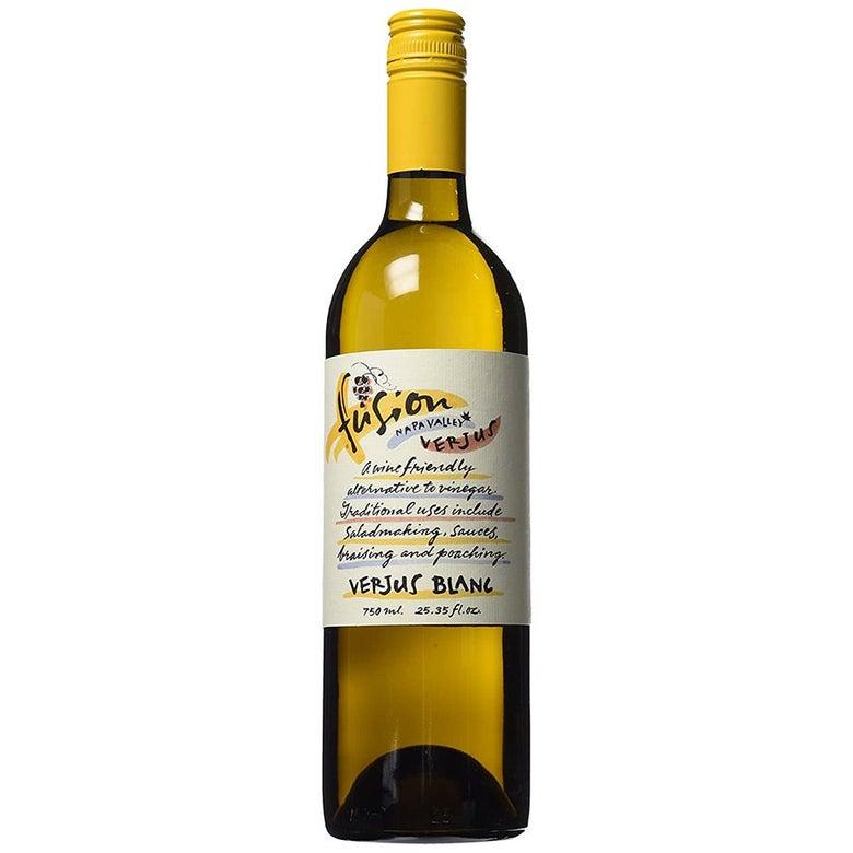 Bottle of verjus blanc