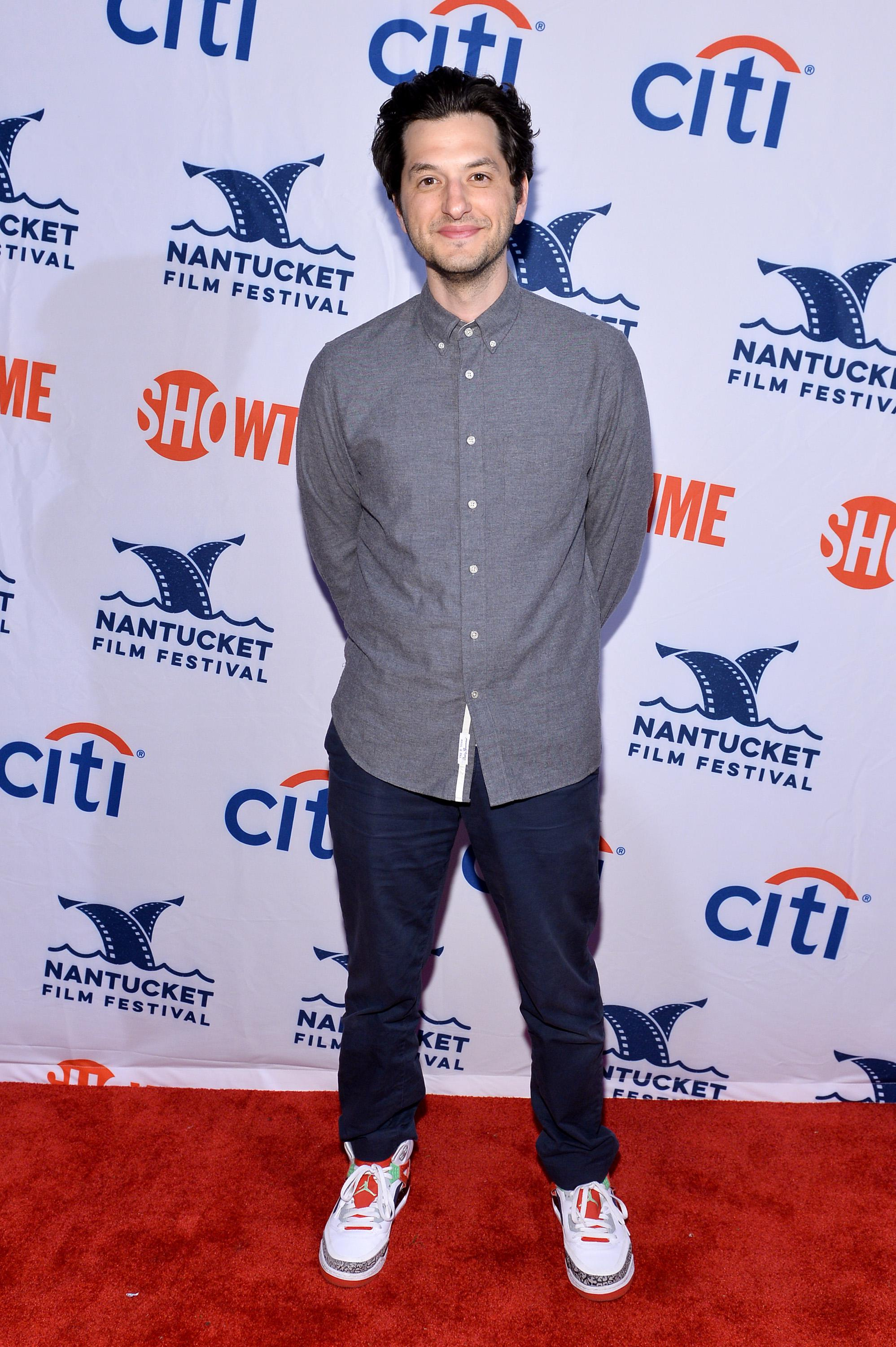 Ben Schwartz on a red carpet.