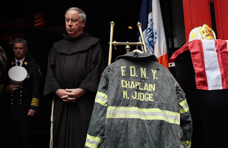 FDNY chaplain Mychal Judge memorial service
