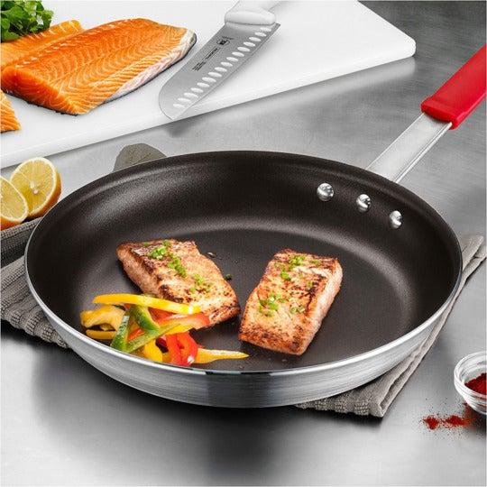 "Tramontina Professional Aluminum Nonstick Restaurant Fry Pan, 12"", Made in USA."