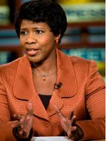 Gwen Ifill. Click image to expand.
