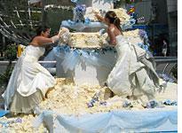 Bride vs. Bride. Click image to expand.