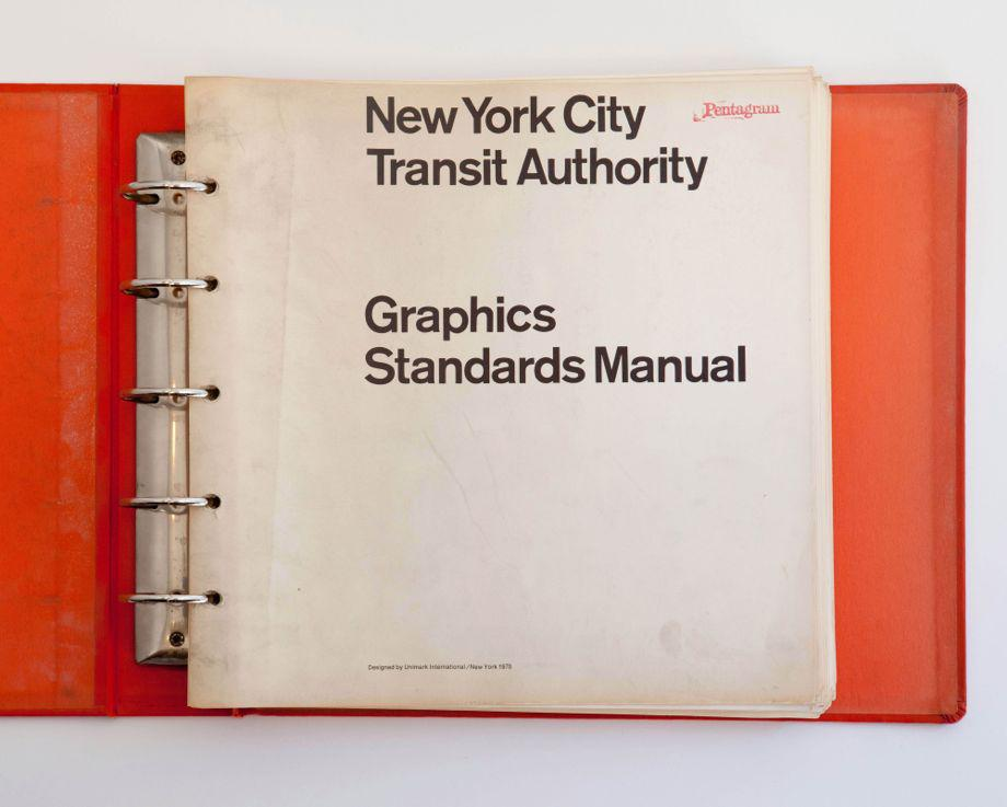 New York City Subway Map By Massimo Vignelli.Nyc Transit Authority Graphics Standards Manual By Massimo Vignelli
