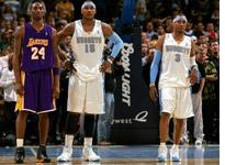 Kobe Bryant, Carmelo Anthony, and Allen Iverson. Click image to expand.