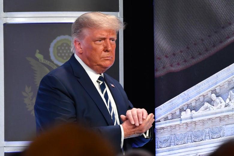 Without Evidence, Trump Blasts FDA