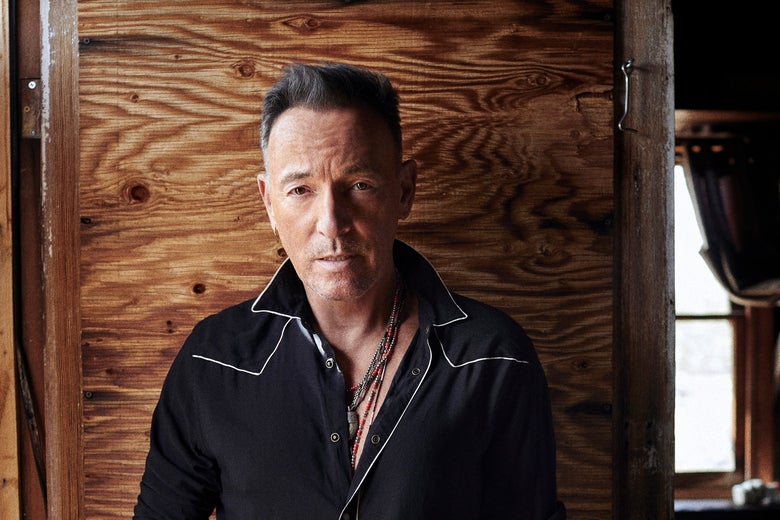 Bruce Springsteen, who must be reeling