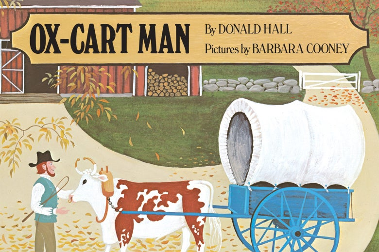 Book cover of Ox-Cart Man.