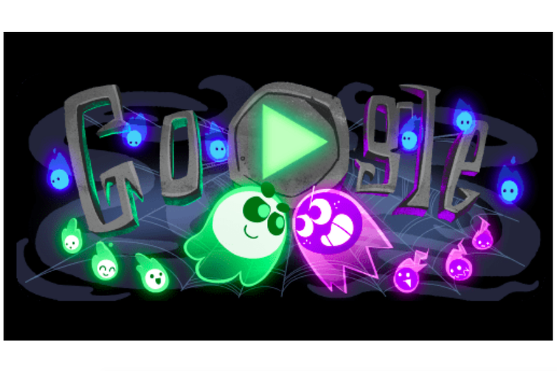 Googles Halloween Google Doodle Ghost Game Still Fun In April