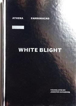 white blight book cover.