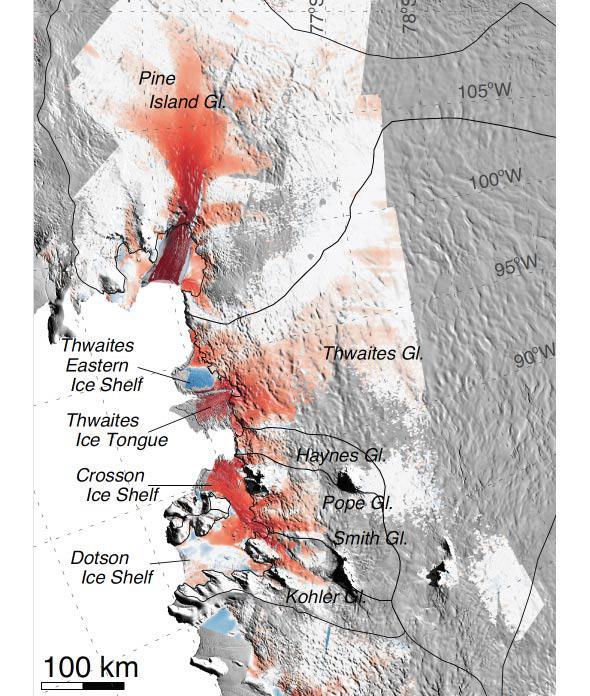 glacier maps
