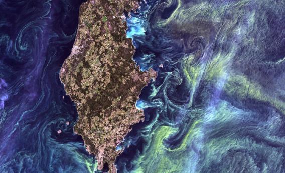 Gotland, a Swedish island in the Baltic Sea