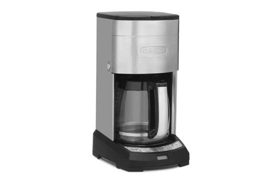 Cuisinart 12-cup coffeemaker.