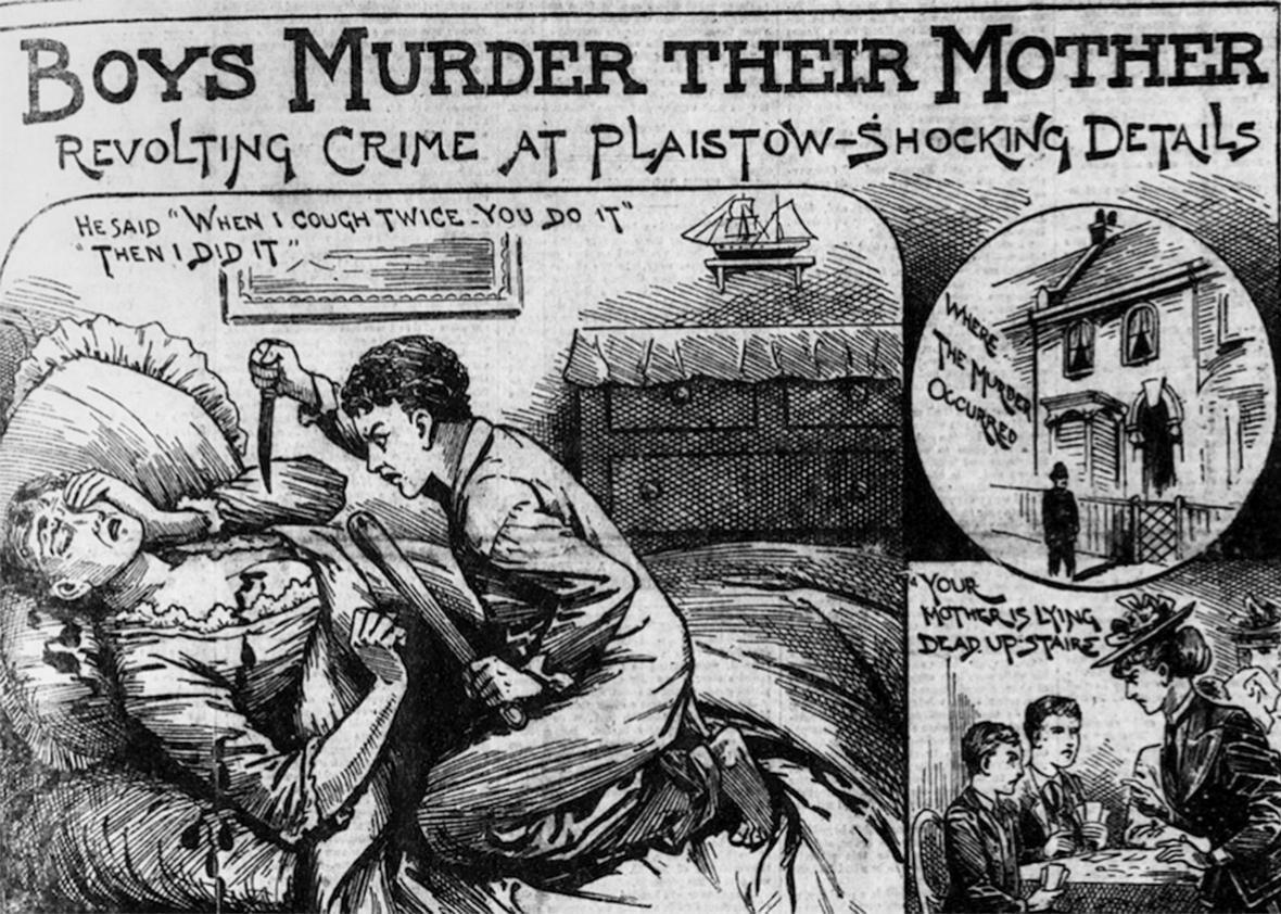London's Police News, July 27, 1895.