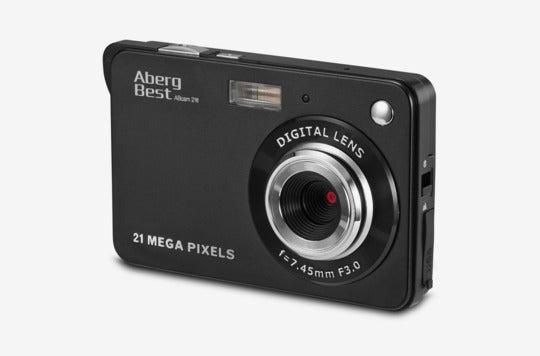 "Aberg Best 21 Mega Pixels 2.7"" LCD Rechargeable HD Digital Camera."