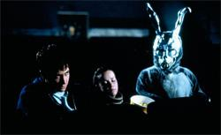 Still of Jake Gyllenhaal and Jena Malone in Donnie Darko. Click image to expand.