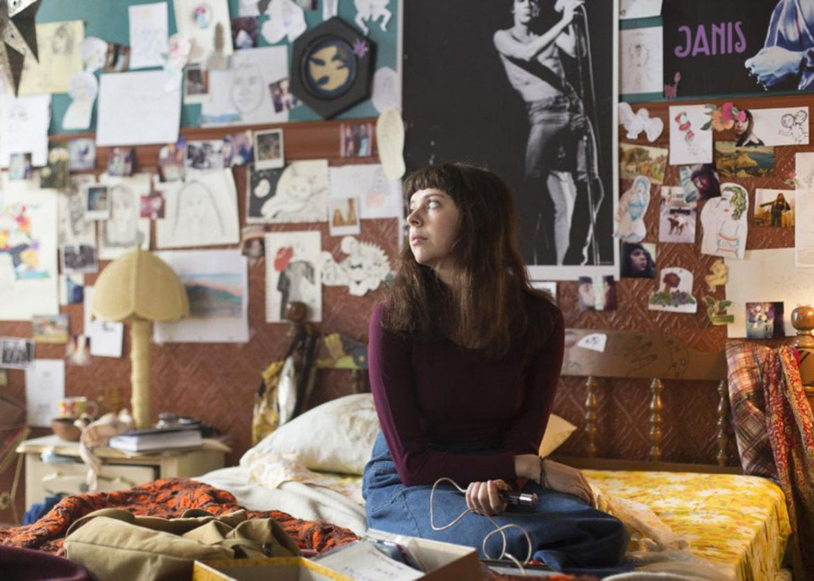 Bel Powley in The Diary of a Teenage Girl.