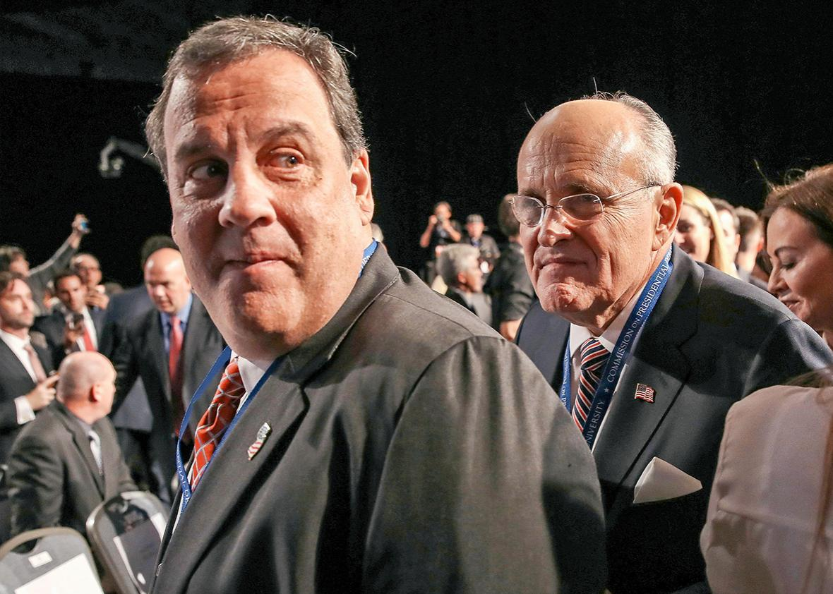 Christie, Giuliani