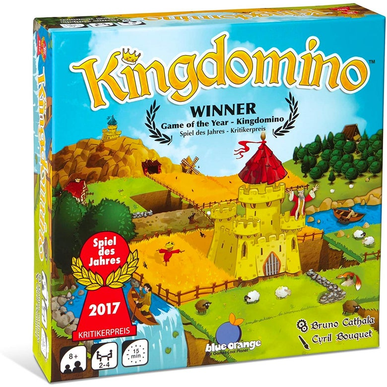 The box of Kingdomino.