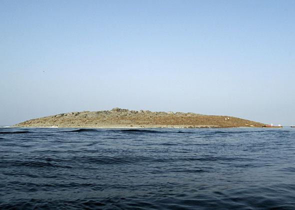 Island off of Pakistan's Gwadar coastline