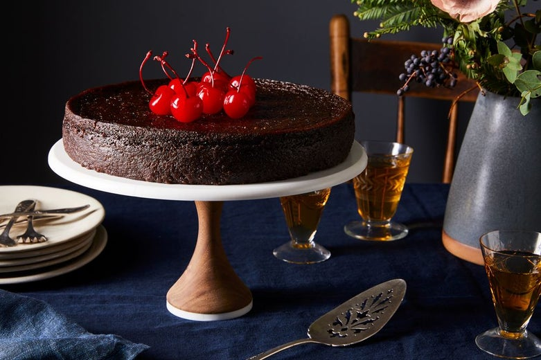 A Spiced Caribbean Black Cake for Christmas, Aged in Rum &Memory