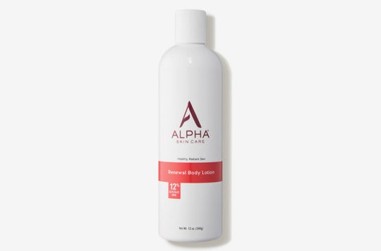 Alpha Skincare Renewal Body Lotion 12% Glycolic AHA.