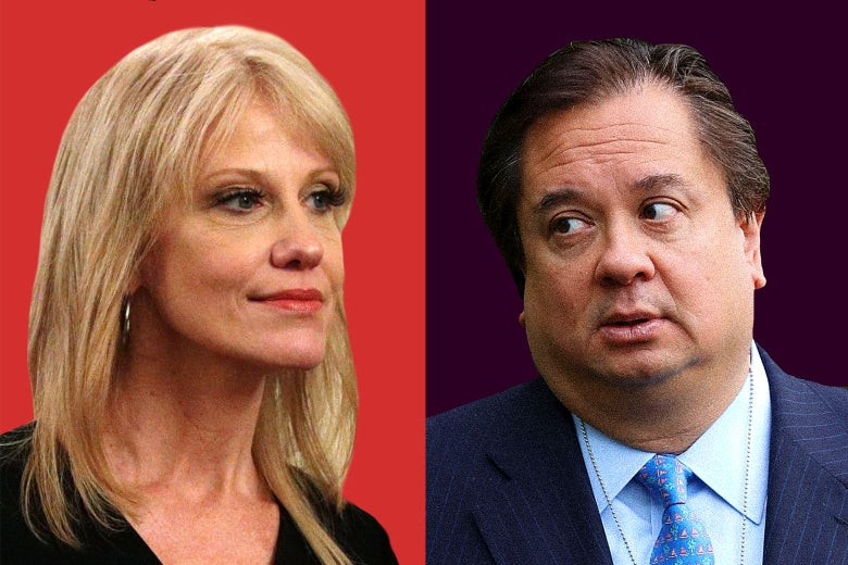 Kellyanne Conway and George Conway