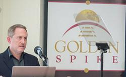 Alan Stern, President and CEO of Golden Spike.