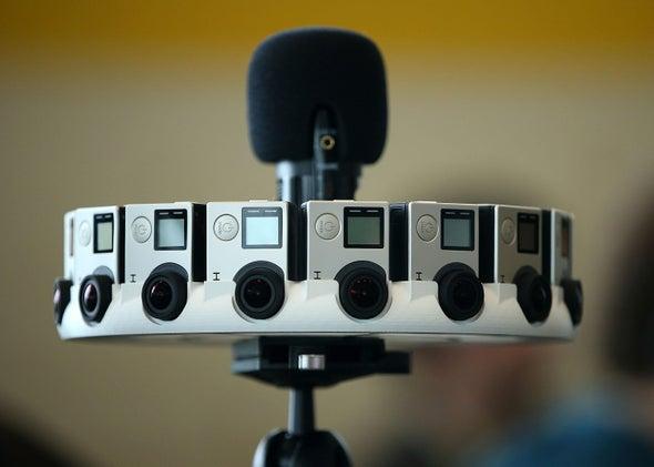 GoPro Array camera for Google Jump VR