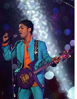 Prince at the Super Bowl.