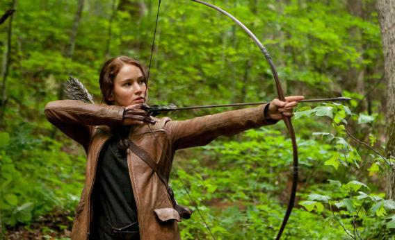A still from The Hunger Games.