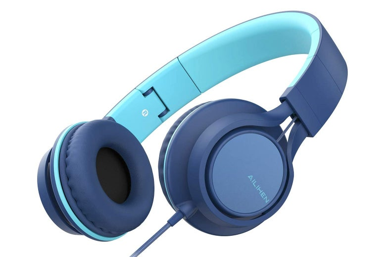 Wired on-ear headphones