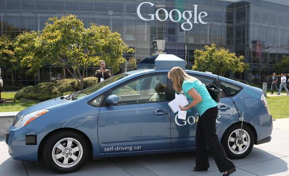 People are willing to believe just about anything about Google's self-driving cars.
