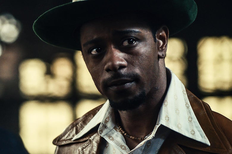 Lakeith Stanfield in a still from the movie.