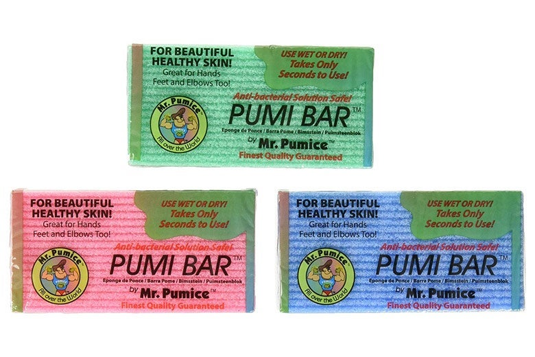 Pumi Bar pedicure bar and pumice scraper