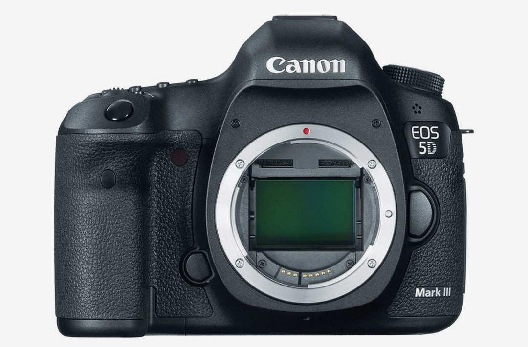 Canon EOS 5D camera.